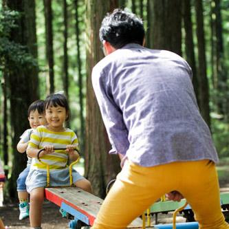 子供が育てやすい南箕輪村のイメージ写真